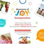Fisher-Price Moments Of Joy Website & Sweepstakes Giveaway