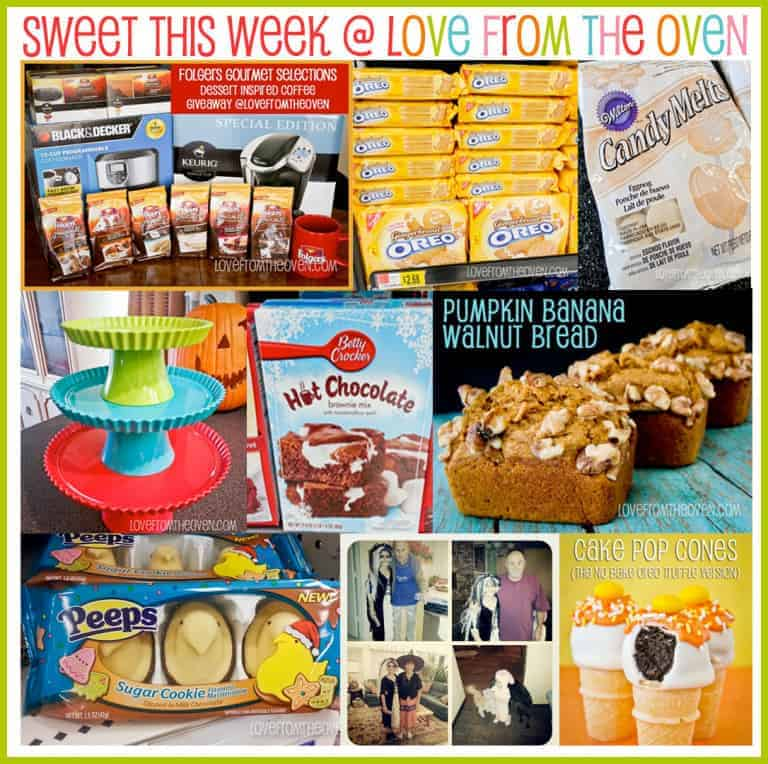 Sweet This Week Nov 2