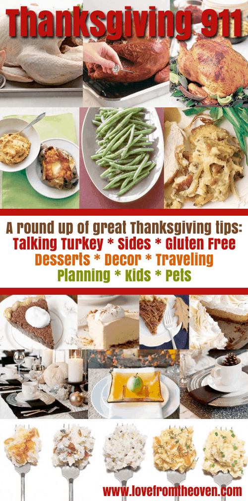 Tips And Tricks For Thanksgiving