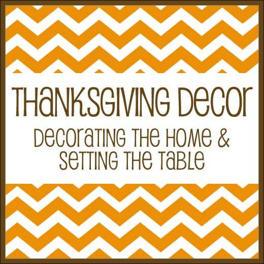 Hgtv Thanksgiving Decorations: A Collection Of ThanksgivingTips