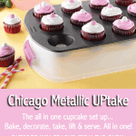 Chicago Metallic UPtake Cupacke Pan, Carrier & Server Giveaway