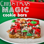 Seven Layer Magic Cookie Bar Week Day 7<BR> Christmas Magic Cookie Bars – I'll Bring The Cookies