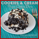 Seven Layer Magic Cookie Bar Week <BR>Cookies & Cream Magic Cookie Bars