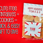 Free Holiday Printables Make For Sweet & Easy Treats