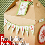 Holiday Printables For Parties & Baking With HP Ink