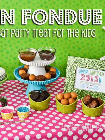 New Year's Eve Luxe For Less Party Fun <BR>Cake Pop Fondue & A Sam's Club Giveaway