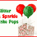 How To Make Glitter Cake Pops & A Cupcake Stand Giveaway