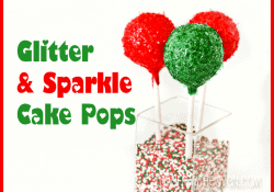 Glitter And Sparkle Cake Pops by Love From The Oven