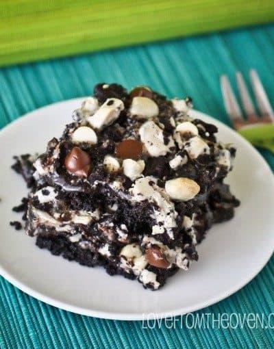 Seven Layer Magic Cookie Bar Week <BR>Cookies & Cream Magic Cookie Bars