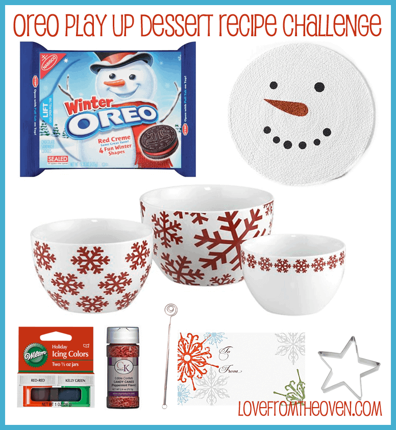 Oreo Play Up Dessert Recipe Challenge Giveaway at Love From The Oven