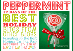 The Best Peppermint Recipes - Peppermint Bites From Other Blogs at Love From The Oven