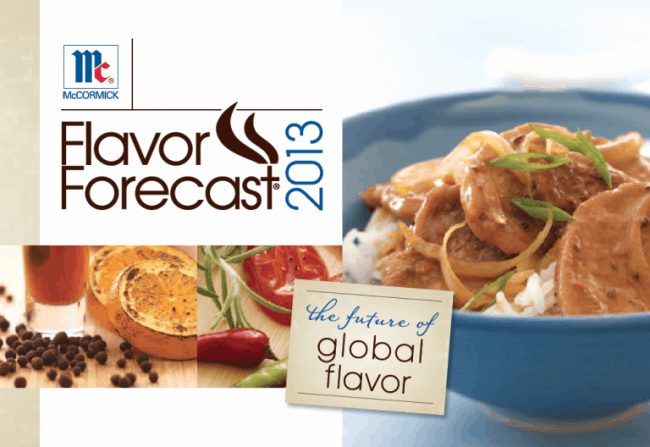 McCormick Flavor Forecast 2013