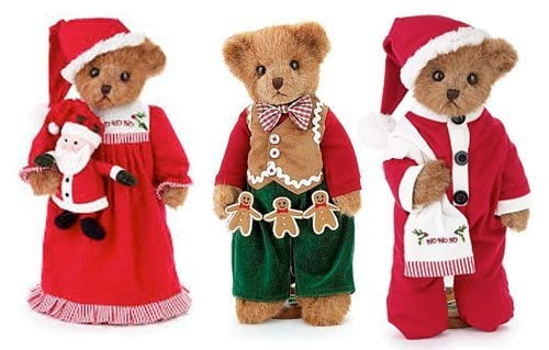 Stuffed Christmas Bears