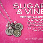 Sugar & Vine Cupcake Necklace Review & Giveaway