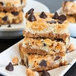Seven Layer Magic Cookie Bar Week Day 5<BR>Delicious Cookie Bar Recipes from Averie Cooks