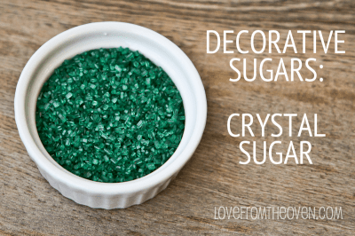 Crystal Sugar Sprinkles