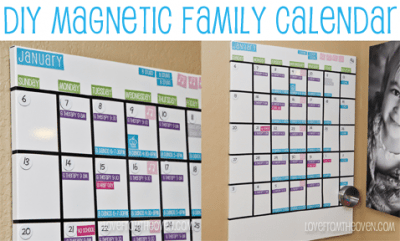 Our magnetic white board family calendar with free calendar the calendar solutioingenieria Image collections