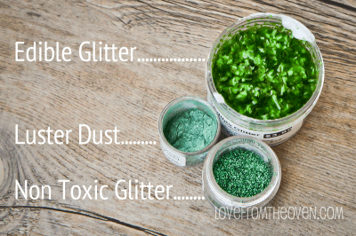 Differences Between Non Toxic Glitter and Edible Glitter