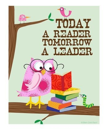 Today A Reader Tomorrow A Leader - Love From The Oven