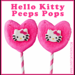 Hello Kitty Marshmallow PEEPS Pops