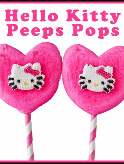 Hello Kitty Marshmallow PEEPS Pops