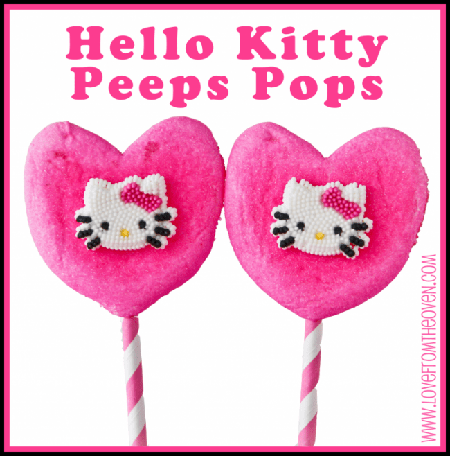 Hello Kitty PEEPS Pops by Love From The Oven copy