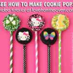 How To Make Oreo Cookie Pops – A Video Tutorial