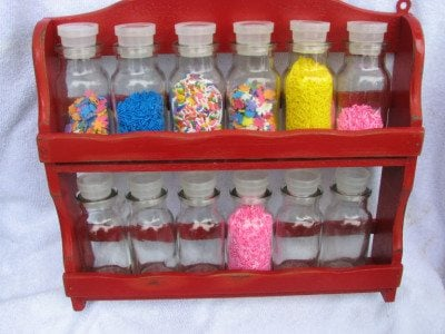 Sprinkle Storage Ideas