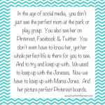 Away From The Oven – Keeping Up With Mama Jones <BR>And Her Picture Perfect Pinterest Boards.