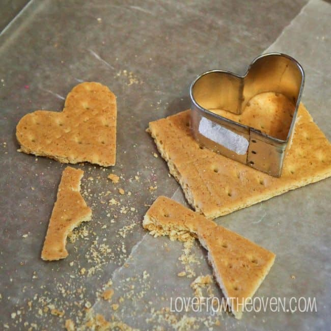Cutting Graham Crackers With Cookie Cutters at Love From The Oven