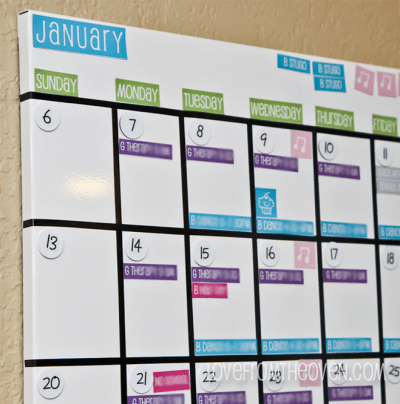 Our magnetic white board family calendar with free calendar my solutioingenieria Image collections