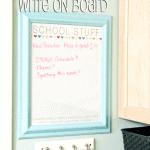 Getting Organized – School Stuff Free Printable