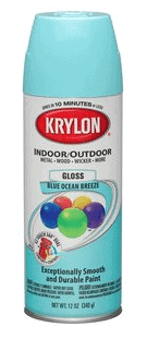 Krylon Blue Ocean Breeze Paint