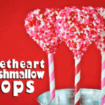 Valentine Sweetheart Marshmallow Pops