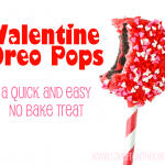 Valentine Oreo Cookie Pops