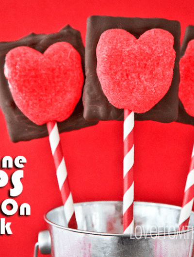 Valentine PEEPS S'mores On A Stick