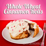 Whole Wheat Cinnamon Rolls – Crazy Good