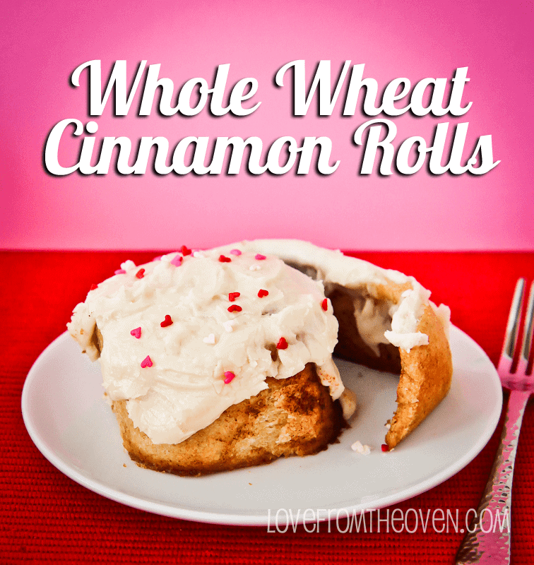 Whole Wheat Cinnamon Roll Recipe by Love From The Oven-5