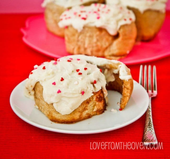 Whole Wheat Cinnamon Rolls by Love From The Oven-2