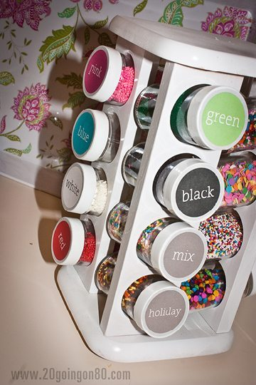 Spice Rack For Sprinkles
