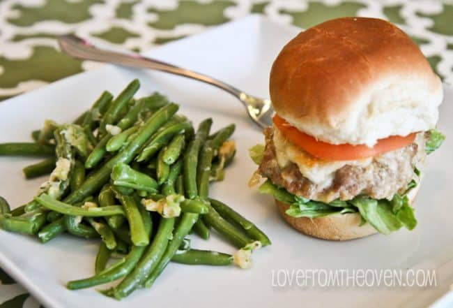 Kraft Fresh Take Garlic Bread Turkey Burgers Love From The Oven