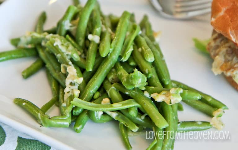 Italian Green Beans With KRAFT Fresh Takes