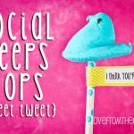 Tweet Me PEEPS Pops