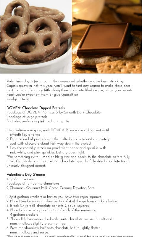 Sweeten Your Valentine's Day With <BR>Romantic Dessert Recipes