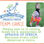 2013 Arizona Apraxia Walk <BR>Raising Funds For & Awareness Of Apraxia