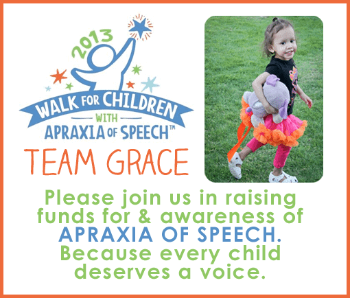 Team Gracie - Apraxia Walk