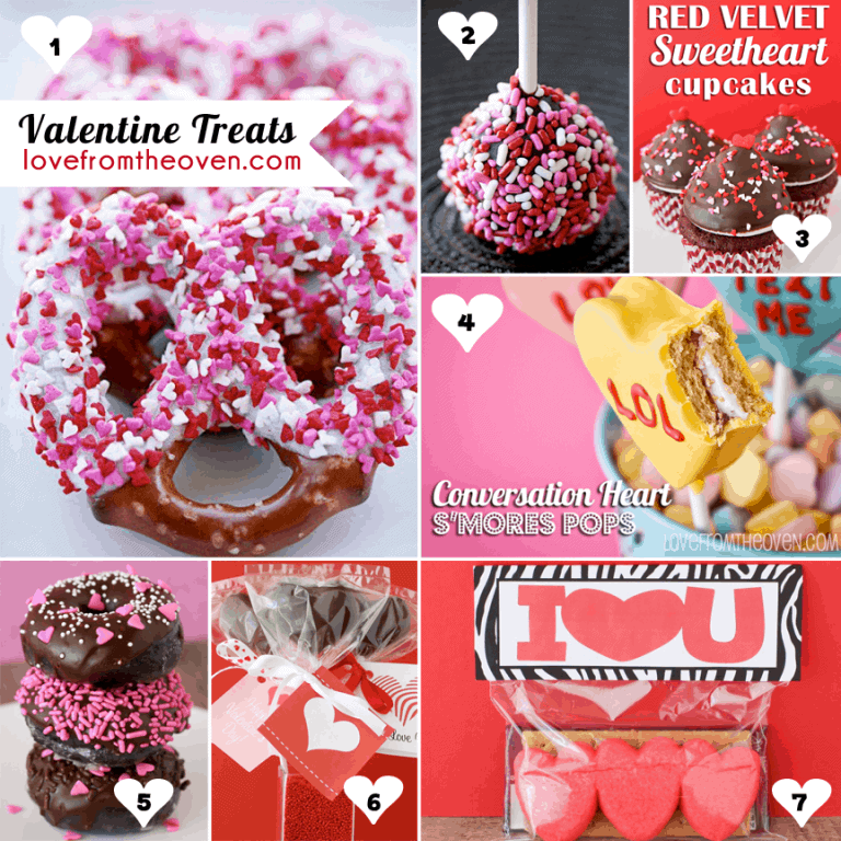 Valentine Recipes at Love From The Oven