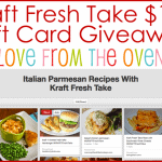 Kraft Fresh Take $100 Giveaway & Pinterest Fun