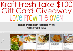 Kraft Fresh Take Giveaway