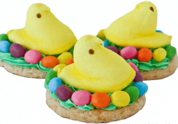 PEEPS Easter Chick Cookies by Love From The Oven
